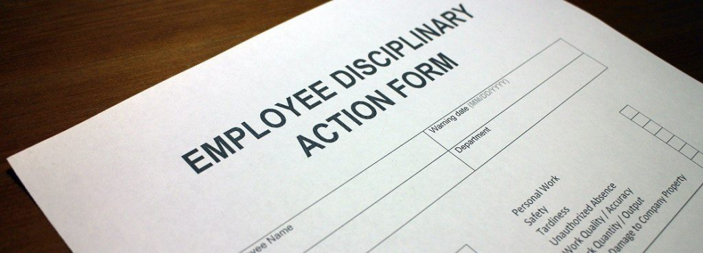 disciplinary procedures at work - aeris employment law
